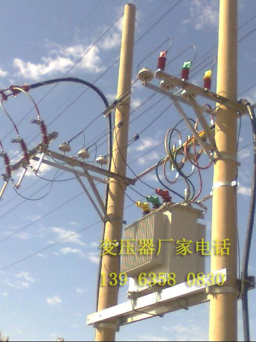 工地临时用电400KVA杆上变压器高低压方案图